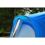 Coleman Tent Octagon, 6 Man Festival Dome Tent, 6 Person Family Camping Tent with 360° Panoramic View, Stable Steel Pole…