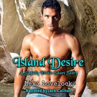 Island Desire, a Sinfully Erotic Short Story audiobook cover art