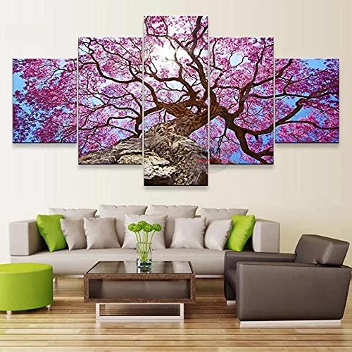 Peinture sur toile 5pcs Tableaux d'art mural 5 pièces...