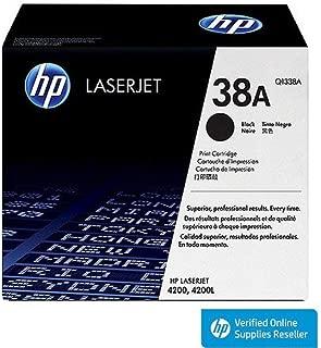 HP Q1338A 38A LaserJet 4200 Toner Cartridge (Black) in Retail Packaging