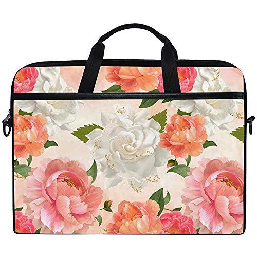 Acuarela Peonía Floral Flores De Color Rosa Brillante Multifuncional