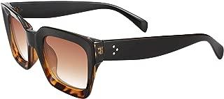 Classic Women Sunglasses Oprah Style Thick Square Frame UV400 B2471