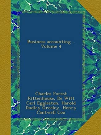 Business accounting Volume 4