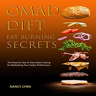 Omad Diet Fat Burning Secrets audiobook cover art