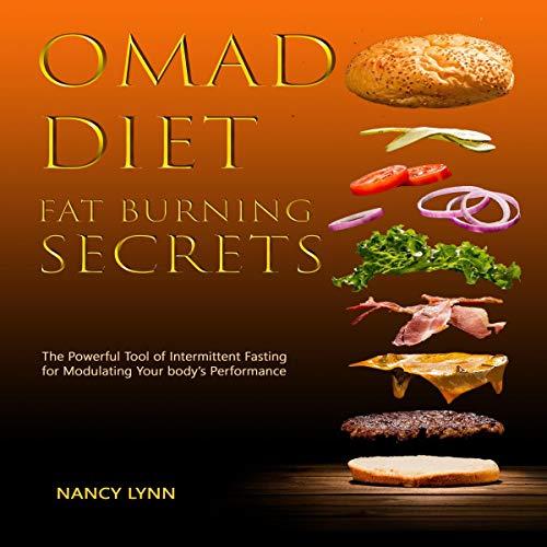 Omad Diet Fat Burning Secrets audiobook cover art