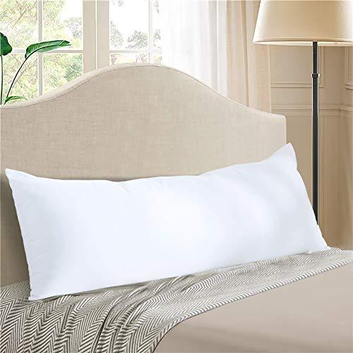 Evolive Ultra Soft Microfiber 21 x54  Long Body Pillow Pregnancy Pillow (21 x54  Body Pillow)