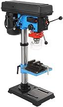 550 W, ajustable a mano, altura del taladro de mesa de 16 mm, portabrocas, taladro de columna con ajuste Chunk y 2 llaves de tornillo, 34 x 20,5 x 72 cm.