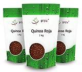 Quinoa Roja | 3kg Pack ahorro | Cultivo nacional (Valle del Guadalquivir)