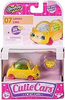 Shopkins Cutie Cars #07 Lemon Limo with Mini Shopkin Exclusive