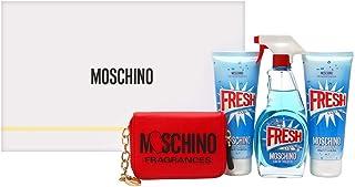 Moschino Moschino Fresh Couture for Women 4Piece Hardbox Set (100ml Eau de Toilette Spray + 100ml Body Lotion + 100 Shower...