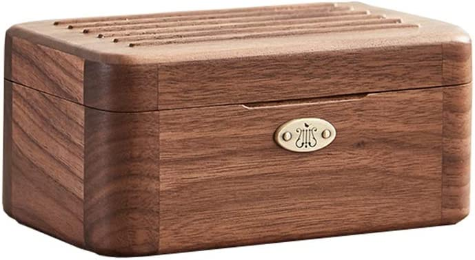 Max 60% OFF FEANG Wooden Music Box Vintage Max 81% OFF WindUp Mechanism Carved Wood Jewe