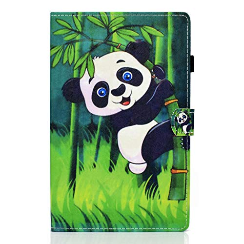 ZL One - Carcasa de piel sintética para tablet Lenovo Tab M10 Plus (Panda)