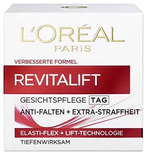 L'Oreal Paris Revitalift Gesichtspflege, mit Bienenwachs für den Tag, gegen Falten und für eine...