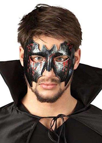 Pams of Gainsborough Halloween Noir sanglante Bat Masque pour Les Yeux