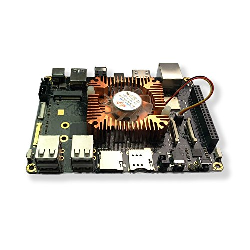 youyeetoo Firefly RK3399 Six-Core 64-Bit High Performance Plattform unterstützt Dual-Kameras Demo-Board für AR VR Android 8.1 ubuntu 16.04 Entwicklungsplatine 4GB DDR3+ 128GB eMMC