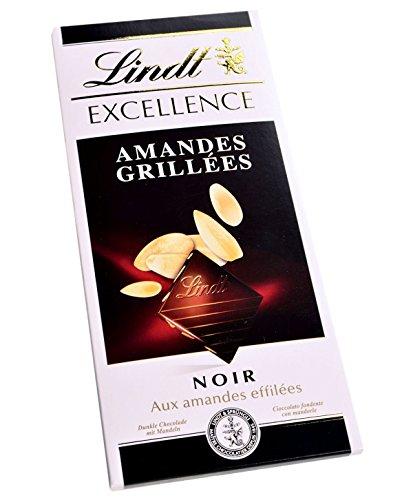 Lindt Excellence geröstete Mandeln 100 g x 10