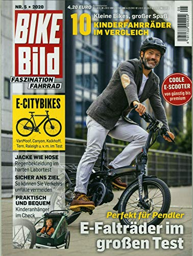 """Bike Bild 5/2020 \""""E-Falträder im großen Test\"""""""