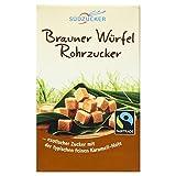Südzucker Brauner Würfel Rohrzucker Fair Trade