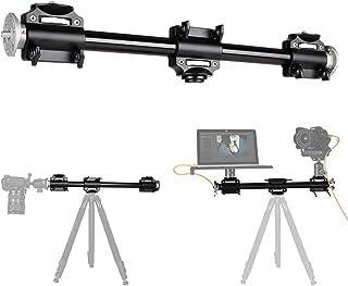 Fotoconic Horizontaler Stativarm, 3/8 Zoll Schraube, Stativ Verlängerungsstange für Kamera, professionelles Fotografie Studio, Kugelkopf und Schnellwechselplatte sind nicht im Lieferumfang enthalten.