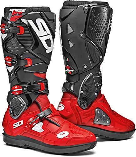 Sidi Unisex-Erwachsene Crossfire 3 SRS Red-Black 41 Motorradstiefel, rot/schwarz, Einheitsgröße