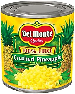 Del Monte Crushed Pineapple in 100% Juice, 15.25 oz