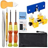 Vastar Watch Opening Tool,Watch Opener, Watch Battery Replacement Tool Kit, Watch Repair Tool Kit with Storage Bag