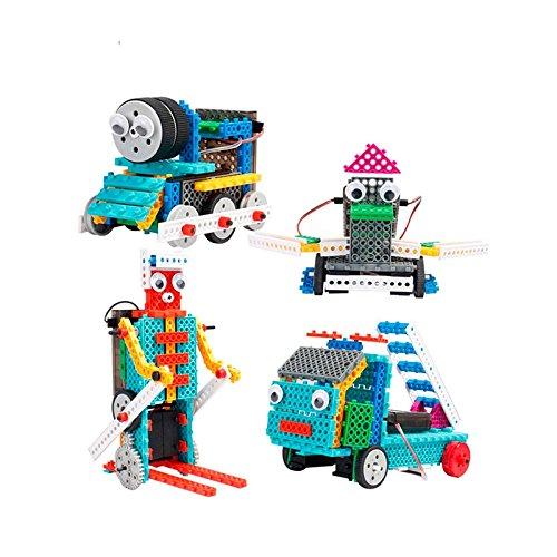 Set de Robots RC 4 en 1 para Montar (170 Piezas)