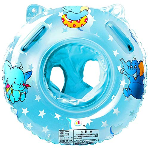 Fangteke Babyschwimmen Schwimmring mit Badesitz Aufblasbare PVC-Baby Schwimmhilfe mit Sitz Spielzeug für Schwimmhilfen für Kleinkinder Und Kinder