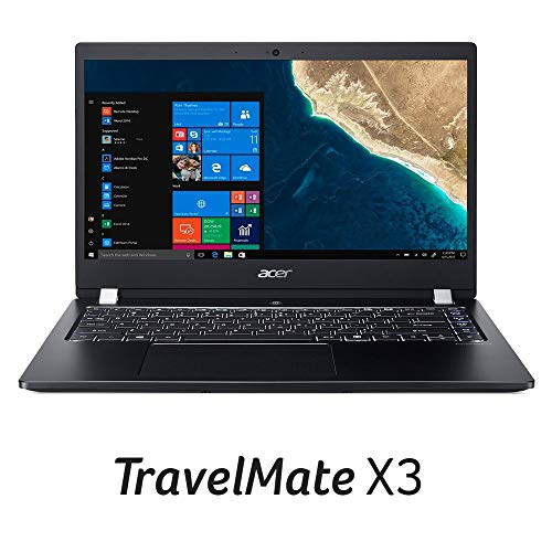 "Acer TravelMate X3 Thin & Light Business Laptop, 14"" FHD IPS, Intel Core i5-8250U, 8GB DDR4, 256GB SSD, 15 Hrs Battery, Win 10 Pro, TPM 2.0, Mil-Spec, Fingerprint Reader, TMX3410-M-5608"