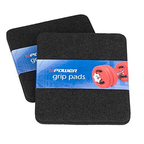 toPower Griffpolster [4er Set]   4mm Griffpads für Kraftsport   Grip Pads als Handschutz für Krafttraining und Fitness