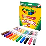 Classic Colors 10/Pkg Crayola Broad Line Markers 58-7722
