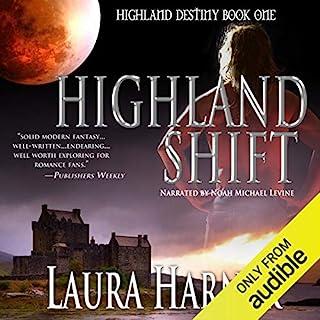 Highland Shift audiobook cover art