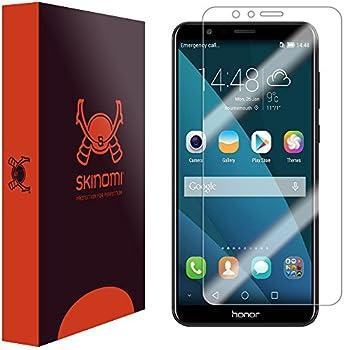 Skinomi TechSkin Clear Screen Protector for Huawei Honor 7X  Huawei Mate SE  [Full Coverage] Anti-Bubble HD TPU Film