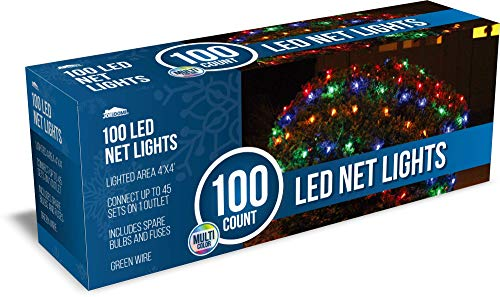 Joiedomi 100 LED Net Lights - Multicolor for Christmas Holiday Decoration