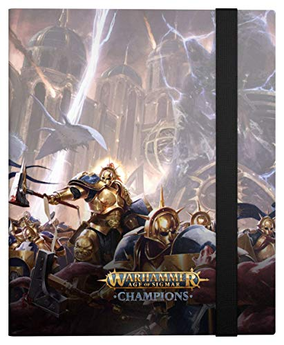 Ultimate Guard Warhammer Age of Sigmar: Champions 18-Pocket FlexXfolio Order: Divine Blast Card