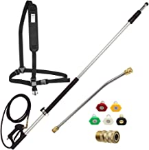 Twinkle Star 4000 PSI Commercial Grade Telescoping Pressure Washer Wand for Pressure Washers with Belt