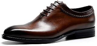 [WEWIN] ビジネスシューズ メンズ 紳士靴 革靴 本革 内羽根 冠婚葬祭 ドレスシューズ ウォーキング 防滑 おしゃれ 履きやすい 屈曲性