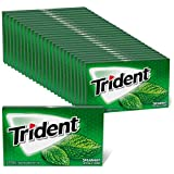 Trident Spearmint Sugar Free Gum, 24 Packs of 14 Pieces (336 Total Pieces)