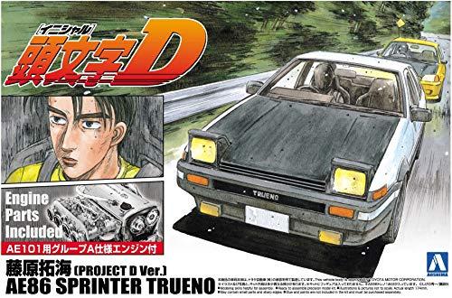 1/24 initial D 1 Takumi Fujiwara projet AE86 Trueno Sprinter D