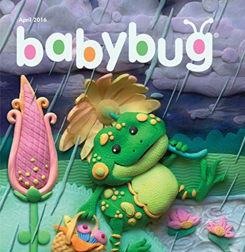 Babybug April 2016: The children to read (English Edition)