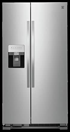 Kenmore 50043 25 cu. ft. Side-by-Side Refrigerator with Water and
