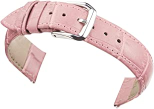 BONSTRAP Leather Watch Band for Men Women Genuine Leather Watch Bands Strap 12mm - 24mm Available 6 Colors