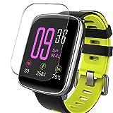 Vaxson 3 Unidades Protector de Pantalla, compatible con Willful SW018 1.54' Smart Watch smartwatch [No Vidrio Templado Carcasa Case ] Película Protectora Film Guard