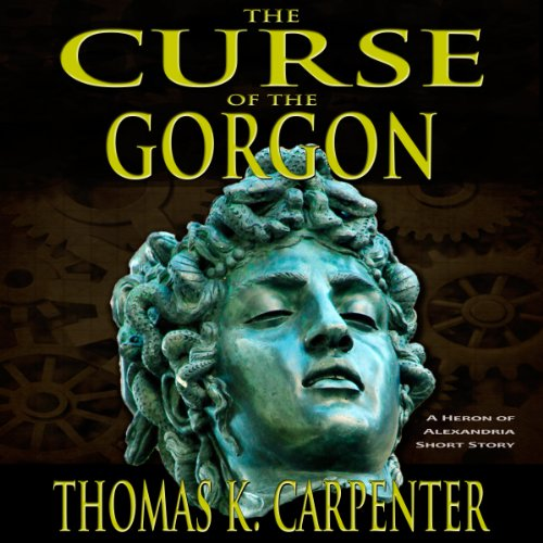 The Curse of the Gorgon audiobook cover art