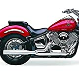 Cobra PowerPro HP 2-into-1 Exhaust System with Billet Tip for Yamaha Cruisers - Yamaha XVS1100A V Star 1100 Classic 2000-2009