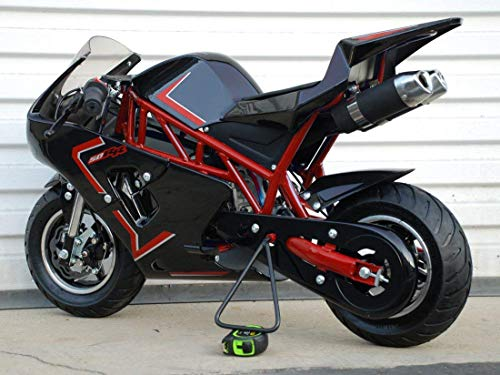 Mini Pocket Bike 50RR Gas Powered 2-Stroke 50cc (Red/Black)