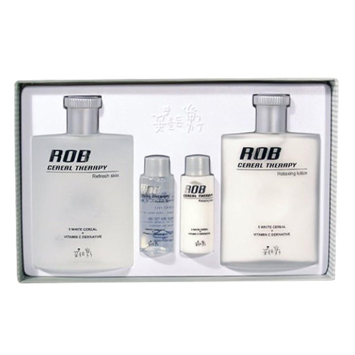 トイレキリストネコロブ?シリアルセラピースキン(160+30ml)ローション(160+30ml)、男性用化粧品、ROB Cereal Therapy Skin(160+30ml) Lotion(160+30ml) Men's Cosmetics [並行輸入品]