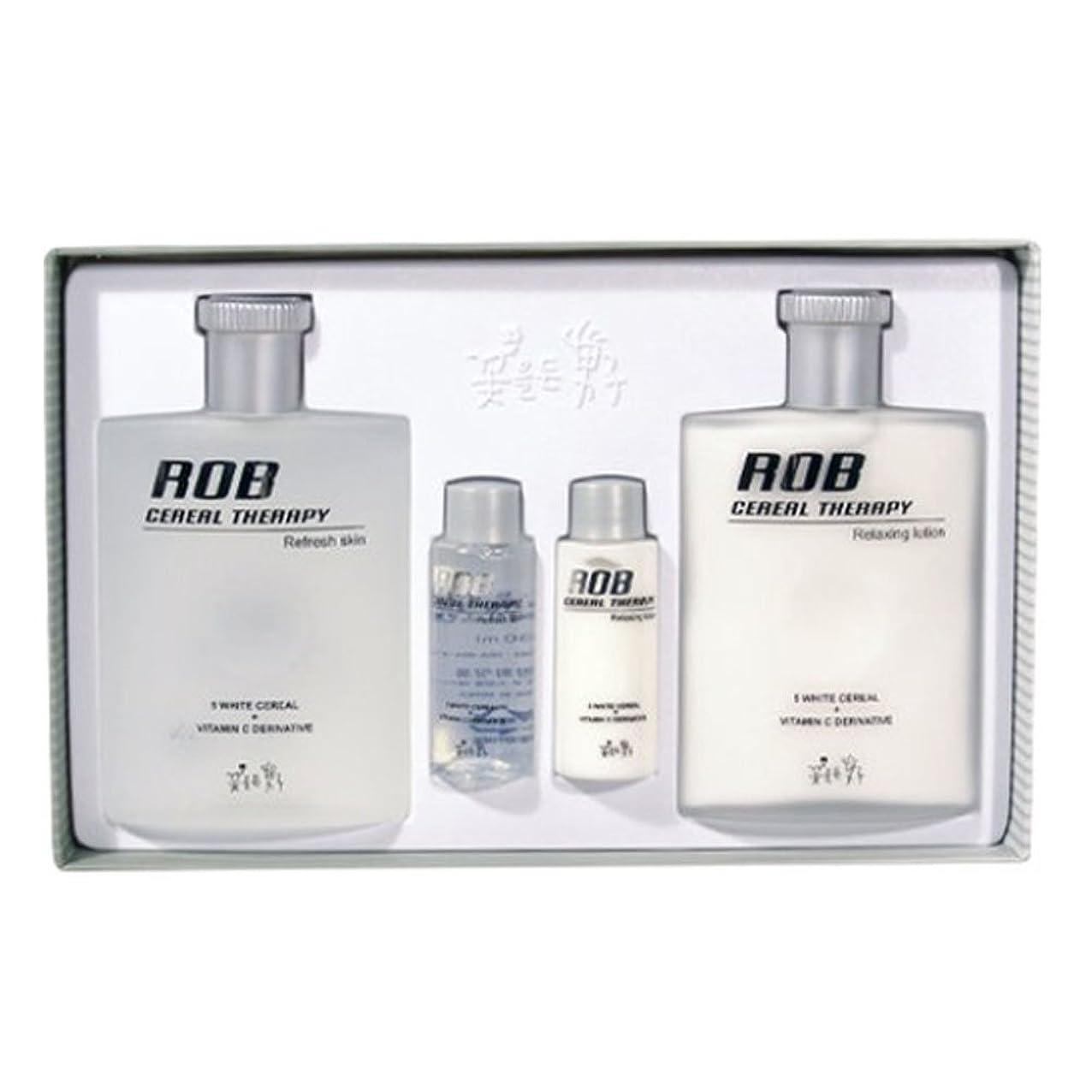 物足りない熱帯の治療ロブ?シリアルセラピースキン(160+30ml)ローション(160+30ml)、男性用化粧品、ROB Cereal Therapy Skin(160+30ml) Lotion(160+30ml) Men's Cosmetics [並行輸入品]