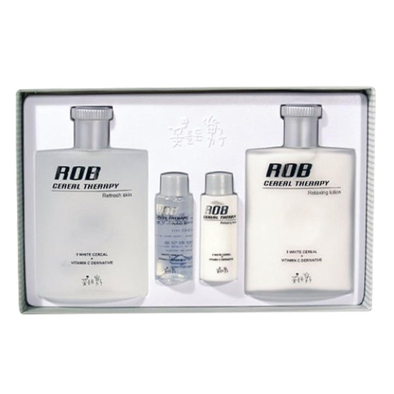 なかなか数学的な劣るロブ?シリアルセラピースキン(160+30ml)ローション(160+30ml)、男性用化粧品、ROB Cereal Therapy Skin(160+30ml) Lotion(160+30ml) Men's Cosmetics [並行輸入品]