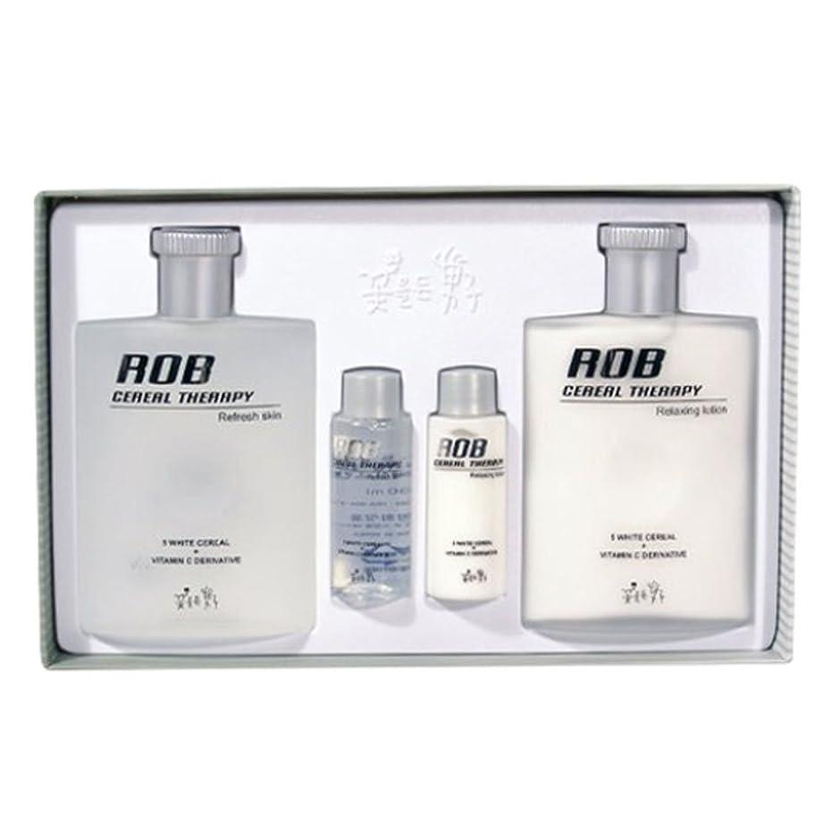 安息症候群署名ロブ?シリアルセラピースキン(160+30ml)ローション(160+30ml)、男性用化粧品、ROB Cereal Therapy Skin(160+30ml) Lotion(160+30ml) Men's Cosmetics [並行輸入品]